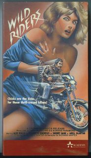 Wild Riders Biker Killers VHS 1971 Motorcycle Gang
