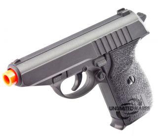 NEW METAL AIRSOFT SPRING PISTOL P232 FULL HAND GUN Sniper Rifle w/ 6mm