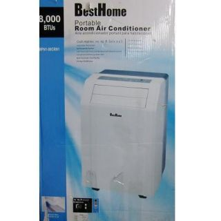 BEST HOME MPN1 08CRN1 8000 BTU Portable Air Conditioner Unit