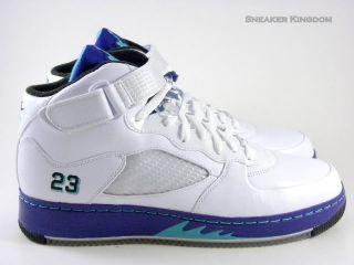 Nike Air Force Jordan AJF V Grape White Retro Men Shoes