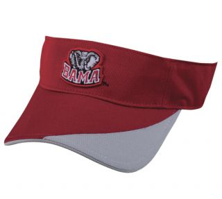 Alabama Crimson Tide Visor NCAA Licensed Adjustable Velcro Cap/Hat