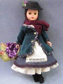 1996 Madame Alexander Eliza Doolittle The Flower Girl Doll 10 w O Box