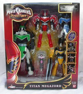 Power Rangers Mystic Force TITAN Megazord NEW Toy in Box US Version