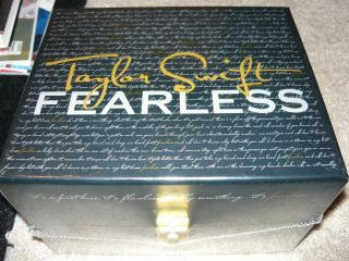 TAYLOR SWIFT FEARLESS BOX SET SEALED BRAND NEW RARE LIMITED EDITION