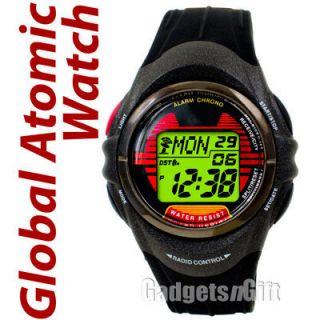 Atomic Digital Watch Multi Band Worldwide Radio Controlled Alarm Clock