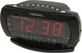 Jumbo Display Dual Alarm Clock Radio with Smartset Technology