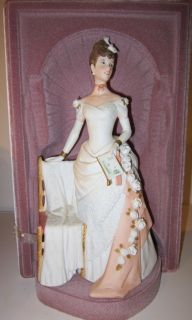1986 Avon Albee Award Doll Figurine Special Ediion