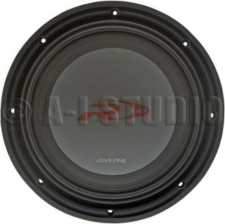 ALPINE SWR 1522D CAR AUDIO TYPE R 2 OHM 15 INCH 2000W POWER SUBWOOFER