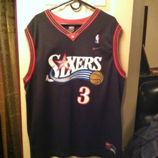 Allen Iverson Nike Retro Swingman Jersey Philadelphia 76ers Sixers XXL