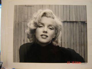 Alfred Eisenstaedt Gelatin Silver of Marilyn Monroe 1953