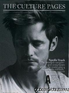 Zooey Deschanel Alexander Skarsgard New York Magazine September 2011
