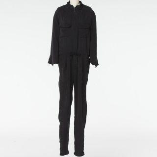 Amber Rose Etoile Isabel Marant Black Zipper Front Jumpsuit Size 2