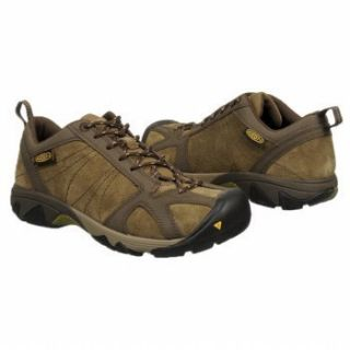 Keen Mens Ambler Leather Hiking Shoes Brindle Wren