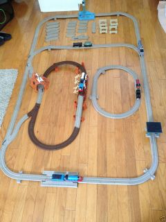 Thomas Tank Trackmaster Train Set Cranky Harold Gordon Shake Bridge