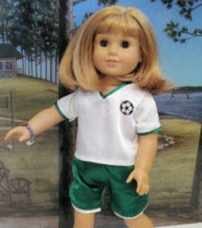 All Colors Soccer Outfit Fits American Girl Doll 18 McKenna
