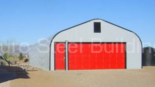 Duro Steel 30x40x14 New Metal Buildings DiRECT New Residential Garage