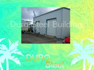 Duro Steel 50x60x16 Prefab Metal Buildings Garage Shop