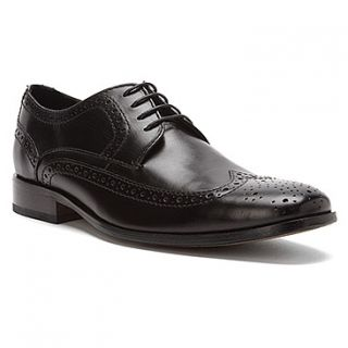 NEW IN BOX BOSTONIAN Mens Alito Wing Tip Dress Shoes Black Leather
