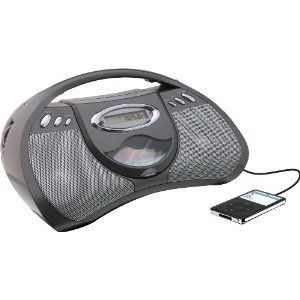 GPX Portable CD Player with AM/FM Radio, Line in for  Devices