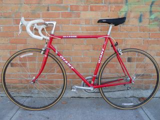 1990s Giant Allegre Road Bike Bicycle Shimano RX100 Vetta Wolber 700