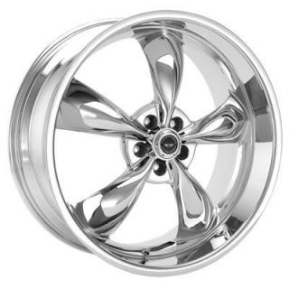 American Racing Torq Thrust M Chrome Wheel 20x8.5 5x4.75 BC Set of