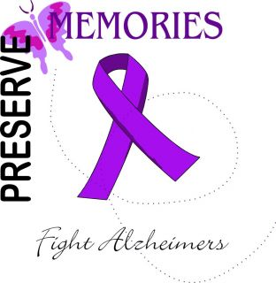 Custom Personalized Print T Shirt Alzheimers Disease