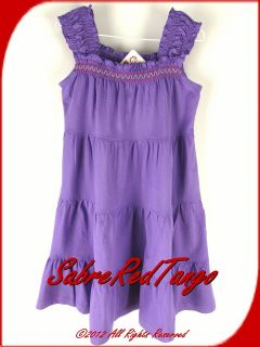 Hanna Andersson Twirl Girl Dress Sundress Lovely Lilac 120 7
