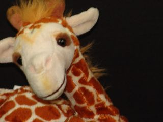 Baby Reticulated Giraffe Plush Stuffed Animal Alley