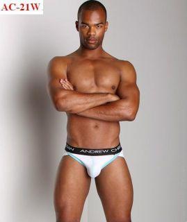 Andrew Christian Brief Mens Underwear White Medium 30 32