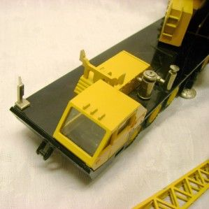 Grove Toy Crane Construction Toy Germany German Die Cast NZG Model 1
