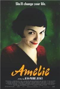 Amelie 2001 27 x 40 Movie Poster Audrey Tautou Style C
