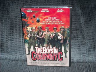 Boys in Company C DVD Stan Shaw Andrew Stevens Michael Lembeck
