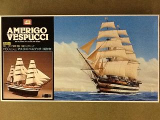 Imai 1 150 Amerigo Vespucci Sailing SHIP Plastic Model Kit