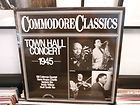 COLEMAN   TOWN HALL CONCERT 1945 W/ TEDDY WILSON NM M (COMMODORE) LP