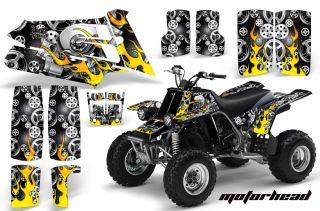 AMR ATV Graphics Kit Stickers Decals Yamaha Banshee 350