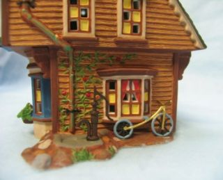 dept 56 little women march residence house set book nib