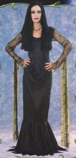 morticia adult costume the new addams family sm one day