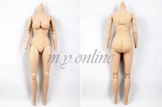 Hot Toys Iron Man 2 BLACK WIDOW Figure 1/6 TrueType BODY (has color