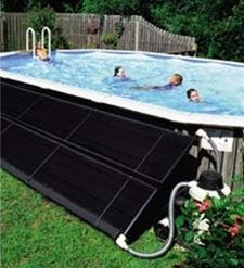 above ground swimming solar pool heater 2 collector kit time