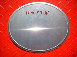 MX Racing Number Plate Motocross alloy AHRMA Vintage aluminum