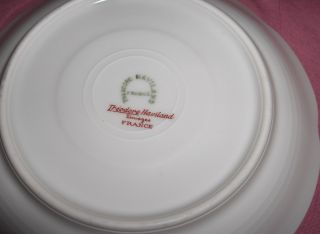 antique haviland china cups saucers silver anniversary limoges france
