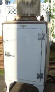Vintage GE Refrigerator Pre 1935 DOES NOT WORK COMPRESSOR ON TOP
