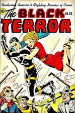 Black Terror 24 of 27 issues Golden Age Comics Books on DVD 1942