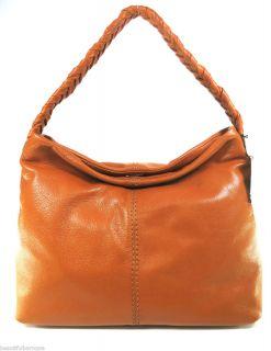Antonio Melani Mariska Saddle Brown Leather Handbag NWT
