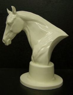 horse head bust figurine award trophy time left $ 19