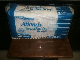 Attends Breathable Adult Briefs Adult Diapers Incontinence