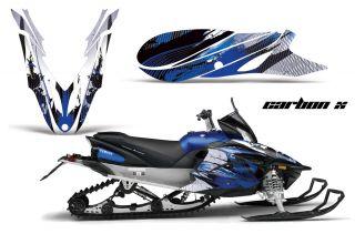 Yamaha Apex Graphic Kit AMR Racing Snowmobile Sled Wrap Decal 12 13