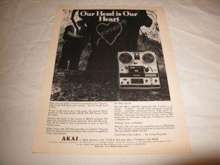 akai reel to reel tape deck in Reel to Reel Tape Recorders