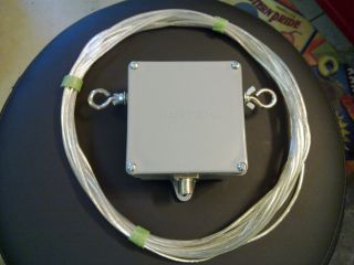 HF Ham Radio Skyloop Antenna 10 Meter and 2 5 to 1 Talented Balun Hang