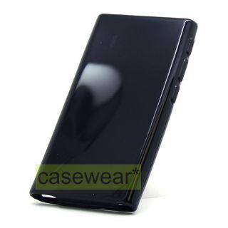 Black Soft TPU Gel Skin Case Cover for NEW iPod Nano 7th Gen Accessory